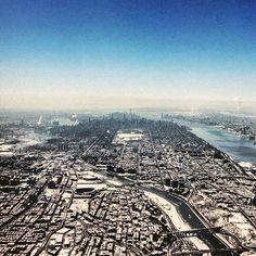 Instagram media by newyorkmonti - Looking south onto Manhattan from the Bronx. #Bronx #newyorkcity #newyork #nyc #manhattan
