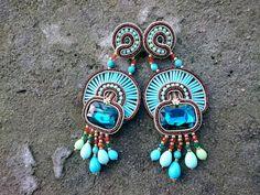 ETNICZNE TABU - BIŻUTERIA : Monroe kolczyki/earrings