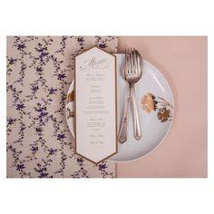 Menu por @bodadesign + Hilton Inpressos #retrospectiva2013 #bodadesign #identidadevisual #weddingstationery