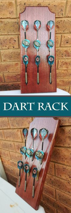 Simple and cheap way to store/display darts.