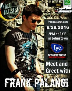 ‪#‎MEETANDGREET‬ at F.y.e. Johnstown, NY 8/28 at 2PM! - Stop in for a few mins or stay a while! Plenty of movies, music and goods to browse in the store. I'll sign whatever you guys want to bring in and would love to talk with you. Come and hang out. Peace! \m/