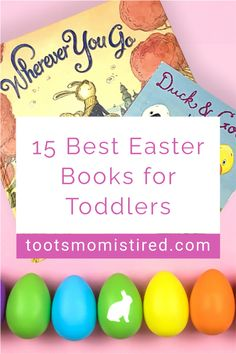 15 Best Easter Books for Toddlers | best picture books for a toddler's Easter basket. Bunny books for Easter, board books for Easter, one year olds, two year olds, three year olds, four year olds. Three Year Olds, One Year Old, Toddler Books, Childrens Books, Two Years Old Activities, Easter Baskets For Toddlers, Bunny Book, Easter Books, Tired Mom