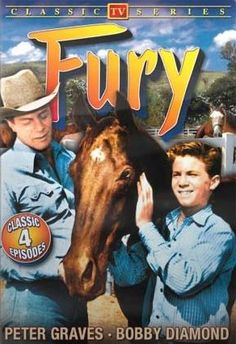 """""""FURY"""" was on of my favorite Saturday morning TV Shows? Starred Bobby Diamond and Peter Graves of later fame for tv's Mission Impossible Peter Graves, Tv Retro, Mejores Series Tv, Capas Dvd, Tv Westerns, Old Shows, Vintage Tv, Vintage Items, Cinema"""