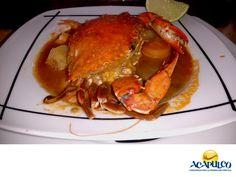 #comidaacapulqueña Come un rico Caldo de Jaiba en las playas de Acapulco. TIPS DE COCINA. En los restaurantes de las playas de Acapulco, puedes ordenar un delicioso Caldo de Jaiba que te va a encantar. Generalmente se sirve con una jaiba entera, mariscos o pescado y con abundantes verduras. Durante tu siguiente visita al hermoso puerto de Acapulco, te recomendamos probar el delicioso y revitalizante Caldo de Jaiba. www.fidetur.guerrero.gob.mx