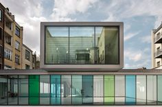 Mercelis I Library, Brussels, Belgium   Architects: Conix RDBM