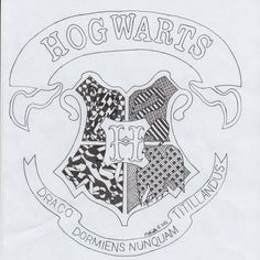 Harry Potter Hogwarts Zentangle My CreationsArt ProjectsCrafts Easy Drawing Steps, Step By Step Drawing, Hogwarts, Face Doodles, Easy Coloring Pages, Easy Drawings For Kids, Drawing Prompt, Harry Potter Drawings, Sad Pictures