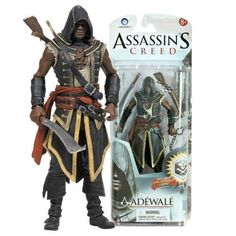 Assassins Creed Series 2 Adewale 6in Action Figure McFarlane Toys