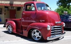 About a 1951 Chevy custom C.O.E pickup truck