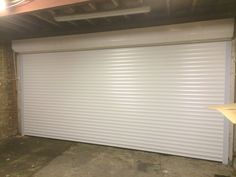 Our RSG7000 Roller Garage Door shutter fitted to a residential garage door near Sidcup.