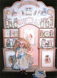 original antique perfumery for dolls