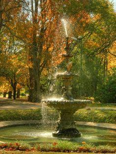 Fuente Central del Jardín Botánico - Prado - Montevideo, Uruguay