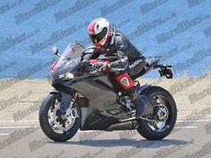Primeiras imagens do 'Project 1048' da Ducati?