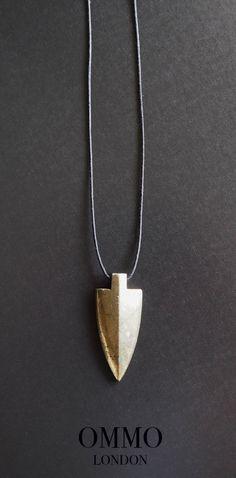 Men's necklace | necklace for men | pyrite necklace | arrow neacklace | arrowhead necklace | fashion for men |