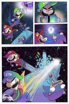 Luigi's true smash attack.
