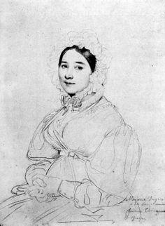 Madame Jean Auguste Dominique Ingres, born Madeleine Chapelle III - Jean Auguste Dominique Ingres