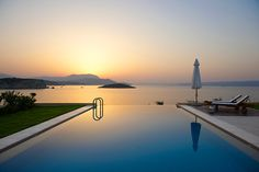 Enjoying the magnificent view from a villa in Crete