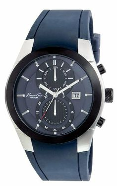 Kenneth Cole New York Men's KC1681 Analog Blue Dial Watch Kenneth Cole. $87.75. Dependable Digital-Quartz Analog-Quartz movement. Water-resistant to 99 feet (30 M). Durable polyurethane strap. 3-hand Japanese analog movement with date window. Solid stainless steel round case. Save 35%!