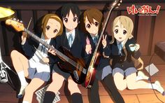 K-ON Music Band Anime Wallpaper - ค้นหาด้วย Google