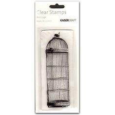 Kaisercraft Bird Cage Texture Clear Stamp