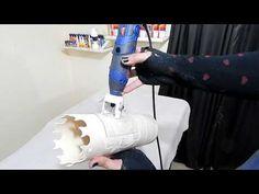 DIY Aprenda fazer peça de rebaixo para Luminária de PVC - YouTube
