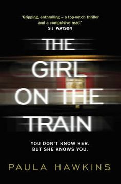 The Girl on the Train by Paula Hawkins (9780857522320)   Buy online at Bookworld Rachel catches the same commuter train every morning. She knows it will wait at the same signal each time, overlooking a row of back gardens. She's even started to feel like she knows the people who live in one of the houses. 'Jess and Jason', she calls them. Their life - as she sees it - is perfect. If only Rachel could be that happy.