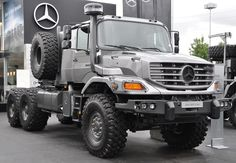 Big Rig Trucks, New Trucks, Pickup Trucks, Mercedes Benz Zetros, Army Vehicles, Armored Vehicles, 6x6 Truck, M Benz, Mercedes Benz Trucks
