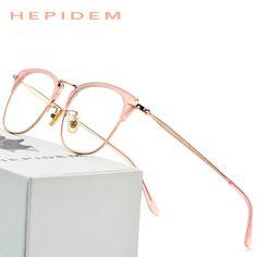 02f84f0d6e Acetate Glasses Frame Women Rose Gold Round Prescription Eyeglasses Female  Spectacles 2018 Men High Quality Myopia Optical Frame eyeglasses  Hipster  ...