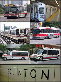 Toronto Transit Commission (TTC) The 3rd largest public transportation system in North America and the only one operating a system comprised of buses, subways, streetcars and Light-rail.