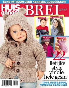 Huisgenoot Brei from Frequency: Annually Normal Cover Price: R Number of issues annually: May Magazines, Crochet Hats, Number, Cover, Style, Fashion, Journals, Knitting Hats, Swag