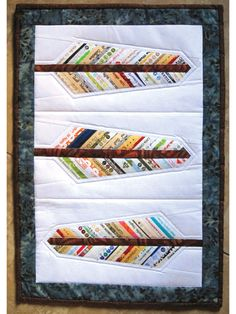 New Quilt Patterns - Audubon Selvage Feather Quilt Pattern