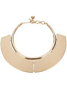 Lanvin Brass Plate Necklace - Bernardelli - farfetch.com