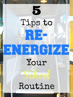 5 Tips to Re-Energize Your School Routine #Moms4JNJConsumer #sponsored
