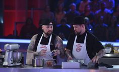 Benji Madden and Joel Madden on Master Chef US Celebrity Showdown earlier this year!