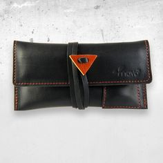 Tobacco pouch Black Mamba with lighter pouch
