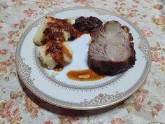 Retete cu margareta cismasiu: Ceafa de porc glazurata cu dulceata de smochine Baked Potato, Carne, Potatoes, Beef, Baking, Ethnic Recipes, Pork, Meat, Potato