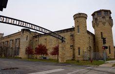 """"""" Old Joliet Prison """" In Joliet Illinois Joliet Prison, Joliet Illinois, Department Of Corrections, Conceptual Art, Casket, Route 66, Coffin, Louvre, Chicago"""