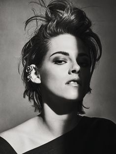 The Rebel: Kristen Stewart by Sebastian Kim for Vanity Fair France September 2014
