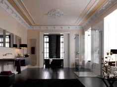 Freistehende Badewanne Bette Bicolour im luxus Badezimmer