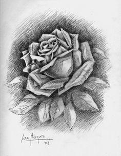 45 Mejores Imágenes De Flores Dibujos Darkness Roses Y Black