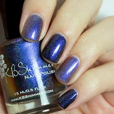 The Nail Network: KBShimmer Winter 2013 Collection Review/Swatches - Myth you lots