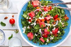 Summer Arugula, Watermelon, Feta & Buckwheat Salad   Tasty Kitchen: A Happy Recipe Community!