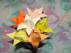 Tulips Origami  •  Fold an origami tulip in under 30 minutes