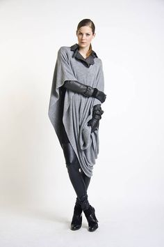 lana wool blend wrap grey by l for lazarus | notonthehighstreet.com