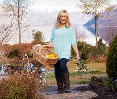 Annabel Langbein talks about her simple southern lifestyle Womans Weekly, Back To Basics, New Life, New Zealand, Southern, Bring It On, Lifestyle, Celebrities, Simple