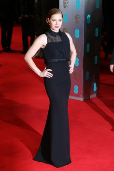 Amy Adams | All The Fashion At The 2014 BAFTAs