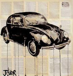 "Saatchi Art Artist Loui Jover; Drawing, ""beetle"" #art"