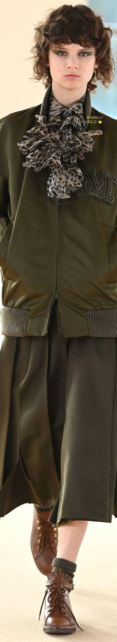 Max Mara Fall 2021 RTW Max Mara, Autumn Fashion, Fall Winter, Feminine, Ruffle Blouse, Coat, Sweaters, Clothes, Beautiful