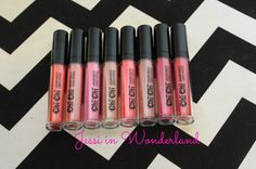 Chi Chi Cosmetics Creamy Matte Liquid Lipsticks! Want: first class, drama queen, simply stunning, & crazy in love.