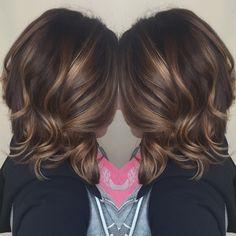 #brunette #balayage