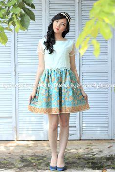 batik dress| dress kebaya | Rembulan Ayu Dress | DhieVine | Redefine You